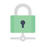 green pad lock signifying Backup continuity & disaster recovery for business servers
